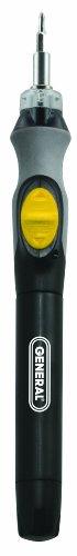 General Tools Schnurlos beleuchteter Power Precision Schraubendreher (502) - General Power Tools