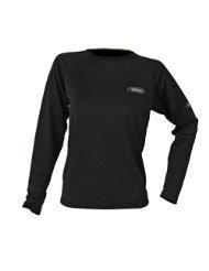 Crewsaver CSR Herren Thermoshirt mit langen Ärmeln, hochwertig, ideal für Strand, Surfen, Segeln, in den Größen Junior / S / M / L / XL / XXL erhältlich Black CSR L