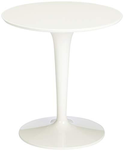Kartell, Tip Top, Tavolino, Bianco, 48 x 50 x 48 cm