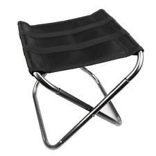 Chaisse pliante - SODIAL(R)Portable Chaise pliante en aluminium tabouret siege peche Camping...