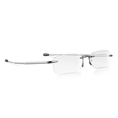 Elegante randlose faltbare Lesebrille eye-pocket XL - 3