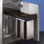 Edel Double 1 Abfallsammler/Trennsystem / Mülleimer