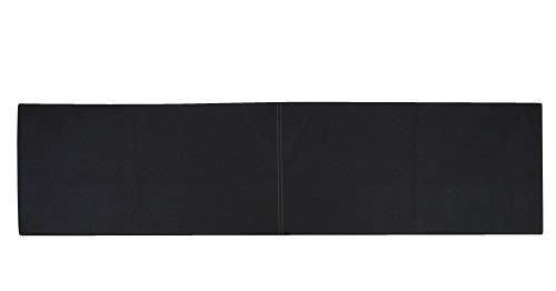 animal-design XXL Wandkissen mit Montage-Set 150cm x 30cm passend zu Klemmkissen versch. Farben, Farbe:schwarz - Wildleder-kissen-set