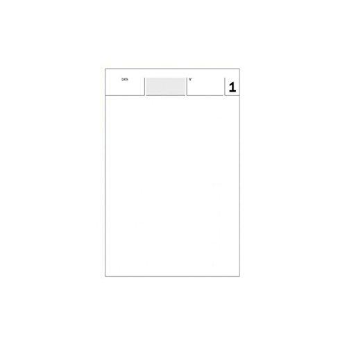 50 blocchi comande 2 copie autoricalcanti 25x2 (17x10 cm) 25+25