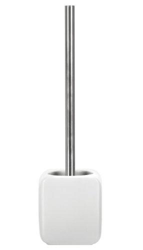 Kleine Wolke 5066100856 WC-Bürstenhalter Cubic, Accessoires, weiß