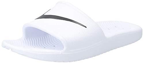Nike Damen Kawa Shower Dusch- & Badeschuhe, Weiß (White/Black 100), 40.5 EU