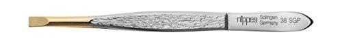Nippes Solingen Pinzette, 1-teilig, vernickeltem Stahl, 9 cm