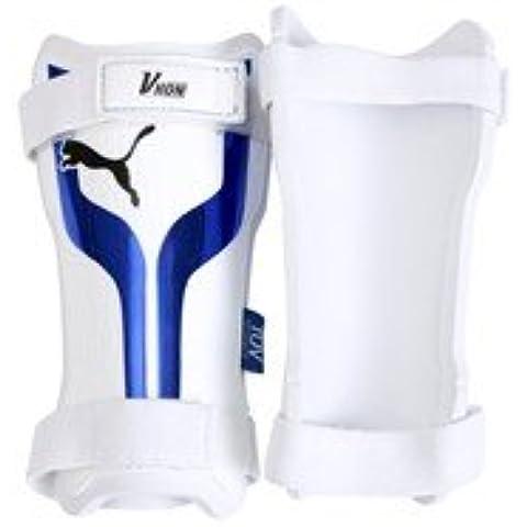 Puma Mens Calcio Shinpad / Shin Guard V-Kon L Bianco-Blu