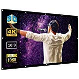 8-pack Wand (Super Star-Vision 120 Projektor-Leinwand für 4K-HD-TV-Video-Projektion - Tragbarer Breitbildschirm für Wand, Fenster, Home Movie Theater, Rückprojektion, Außenbereich, 16 9, 8 K, 120 Zoll Kino)