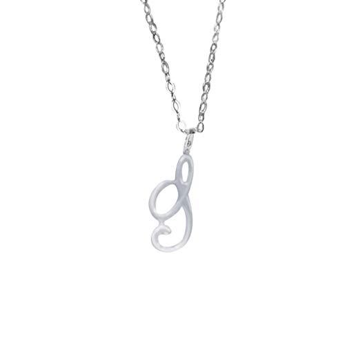MRENVWS Winzige Silber Initial Herz Halskette-14K Silber gefüllt handgemachte zierliche personalisierte Brief Herz Choker Halskette Geschenk für Frauen Kinder Kind Halskette Schmuck