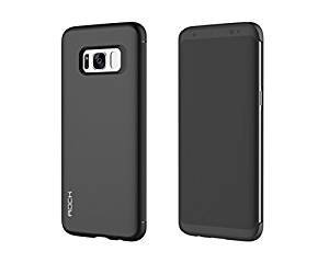 Samsung Galaxy S8 Case,Rock DR V Smart View Flip Case Book Cover For Galaxy S8 - Black  available at amazon for Rs.1499