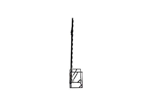 Doppel- Wandbett (Längs) 140x200cm, Klappbett, Schrankbett, Gästebett, Funktionsbett, Vertical 140cm x 200cm - 5