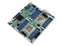 Intel S2600CP4 Mainboard Dual-Sockel 2011 (Intel C600, 16x DDR3 Speicher, ATX, PCI-e)