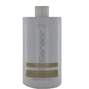 Revlon Professional Shampooing-Soin Nutritif Sensor Shampoo System Grand Format Cheveux Très Secs 750 ml
