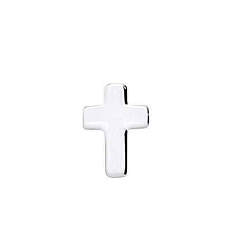 AKKi jewelry Element für Medaillon Kette,Petite Charms Elemente Pandora Style kompatibel Locket Memories Damen Schmuck Set Angebot Kreuz