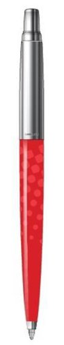 Parker - Jotter 2012: Jotter Rot Dots CT, Limitierte Auflage, Kugelschreiber mit Druckmechanismus.