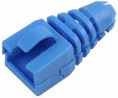 ENCITECH CONNECTORS AB Strain Relief, RJ45, Retro FIT, BLU,PK10 SRB-SNAP-Blue Blu-snap