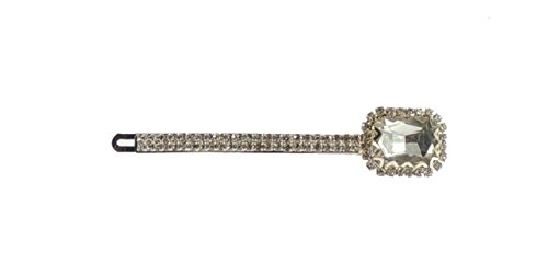 Ladies Extra Sparkly Large Stone Luxury Hair 9cm Grip Clip Clear by Glamour Girlz (Fancy Ideen Dress Womens Christmas)