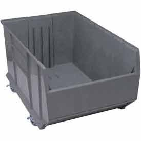 Pallet Rack (Quantum Storage Systems QRB256MOBGY Pallet Rack Bin Mobile 41-7/8-Inch by 23-7/8-Inch by 17-1/2-Inch, Gray by Quantum Storage Systems)