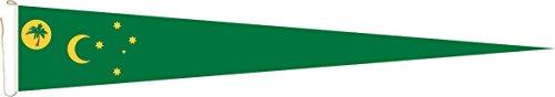 Haute Qualité pour U24 Long Fanion Îles Cocos Drapeau 250 x 40 cm
