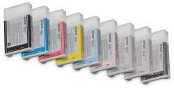 Original Tinte passend für Epson Stylus Pro 7800 Epson T603, T603C, T603C00 C13T603C00 - Premium Drucker-Patrone - Magenta hell - 220 ml -