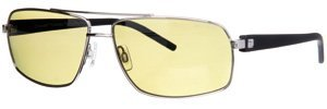 Drivewear polarizzatore Occhiali da sole con lenti fotocromatiche, modello DW SG2B classico in metallo