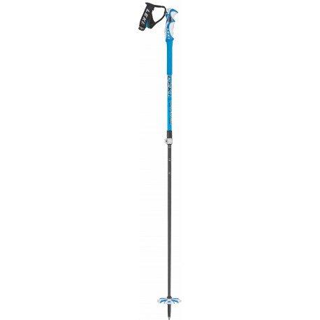 LEKI Erwachsene Skistock Bird Vario, Base Color Design: Dark Blue/White, 110-140 cm