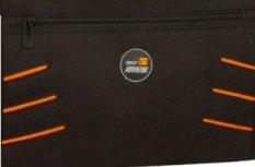 Sporttasche 818 STRIPES mit Handyfach und Adressfach blau lila grün grau orange ca. 56 x 29 x 26 cm schwarz/grau