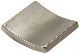 Magnet Expert® 37,5mm O.R. x 33,5mm I.R. x 90 degrés x 25mm N42 néodyme arc aimant, Sud, pack de 1