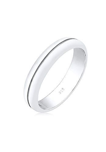 Elli Premium Damen-Dezenter Ehering 925 Sterling Silber 0611220317_54