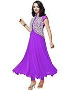 Dipak Fashion New Fancy Traditional Women Semi-stiched Dress Material  available at amazon for Rs.185