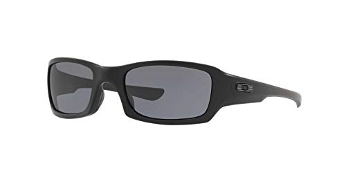 Oakley Fives Squared Sunglasses Matte Black / Flag / 009238-33
