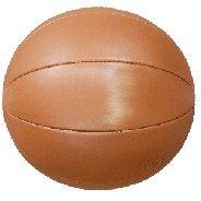 Medizinball - Gymnastikball aus Kunstleder, Gewicht 3 kg