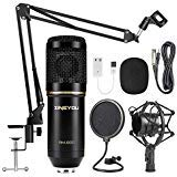 Best Recording Microphones For Vocals - ZINGYOU Condenser Microphone Kit, BM-800 Mic Set Review