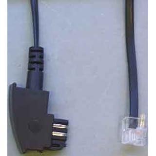 E+P NTBA Anschlusskabel (TAE-F - Westernstecker) 3m
