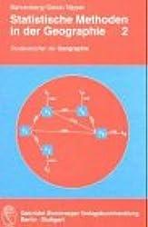 Statistische Methoden in der Geographie / Multivariate Statistik