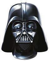 Star Wars Pappmaske Partymaske Darth Vader Lizenzware schwarz Einheitsgröße
