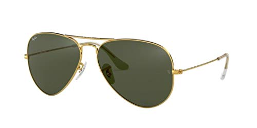 Ray Ban RB3025 Metal Aviator Sunglasses