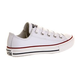 Converse Chuck Taylor All Star Junior White Leather Trainers white