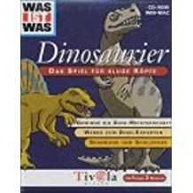 Dinosaurier, 1 CD-ROM Das Spiel für kluge Köpfe. Gewinne die Dino-Meisterschaft, Werde zum Dino-Experten, Spannung und Spielspass. Für Windows 95/98/Me/NT/2000 oder MacOS ab 7.5.3. Für 1 oder 2 Spieler