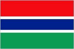 Novelties Direct Flagge von Gambia/Gambianischer 1.52 x meters 0.91 meters (100 Ösen zum %poly) Aufhängen
