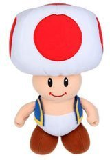 New Super Mario Bros soft toy plush figure Toad 16 cm Nintendo by Toge