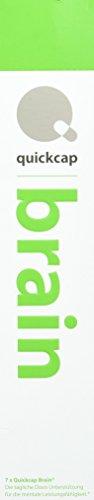 Quickcap Brain für mehr Konzentration und Leistungssteigerung| wissenschaftlich formuliertes Nahrungsergänzungsmittel | Guarana, Rhodiola Rosea, Koffein, Grüner Tee, Mate Tee, Vitamin B Komplex. (Die Größe Der Familie Grüner Tee)