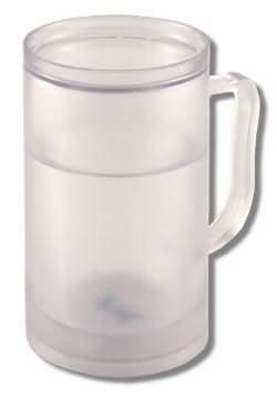 Cooler Bierkrug zum Einfrieren ICE TANKARD - Prost!