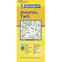Carte routière : Aveyron - Tarn, N° 11338