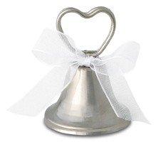 12 Platzkartenhalter Glocke 5cm - Hochzeit Deko Namensschilder Sitzordnung
