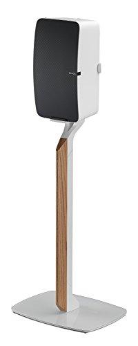 Flexson Premium-Bodenständer für Sonos Play:5, weiß/eiche