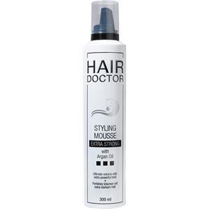 Hair Doctor Styling Mousse Extra Strong mit Arganöl 75 ml Verleiht extra starken Halt für alle Haartypen
