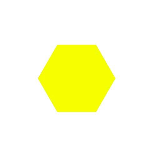 Anti-Lärm Wohnzimmer dekorative Wand-Aufkleber, Filz Farbe Hexagon Vorstand Durable Nicht verformt Hexagon Vorstand 13.5CM Filz * 12cm * 7cm Haushaltsprodukte ( Color : #5 )