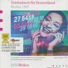 Telefonbuch für Deutschland Herbst 1997
